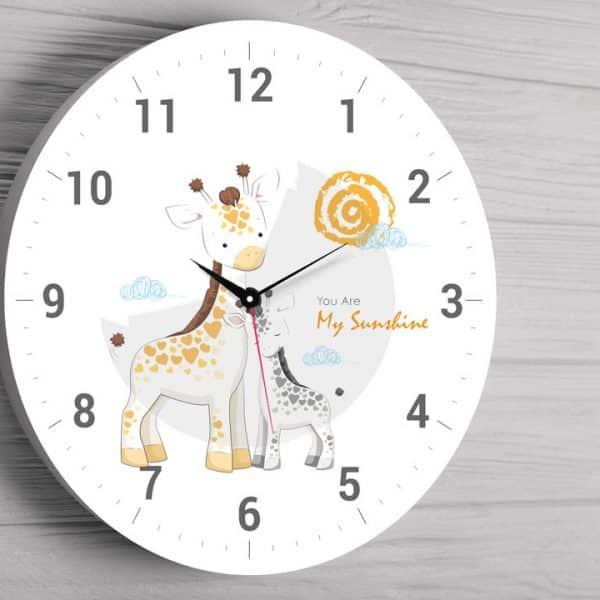 Ceas personalizat Girafa