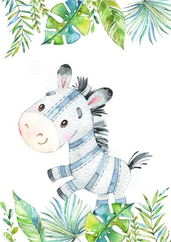 Tablou decorativ zebra