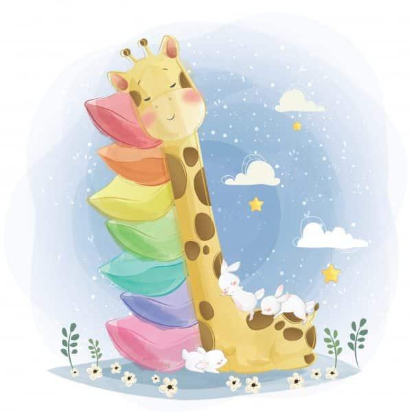 Cana Personalizata Girafa