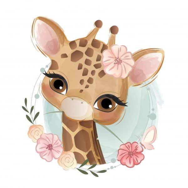 Cana Personalizata Girafa Fete