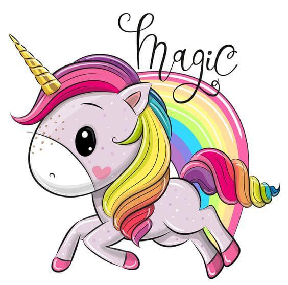 Meniu Botez unicorn