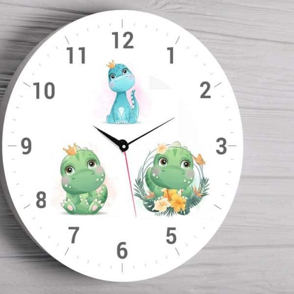 Ceas personalizat dinozauri