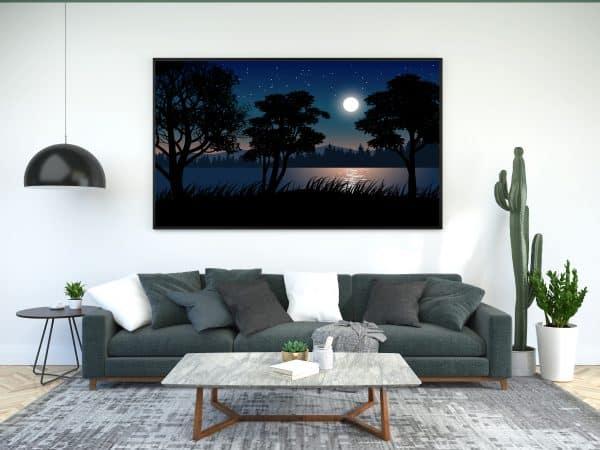 Tablou Canvas Luna