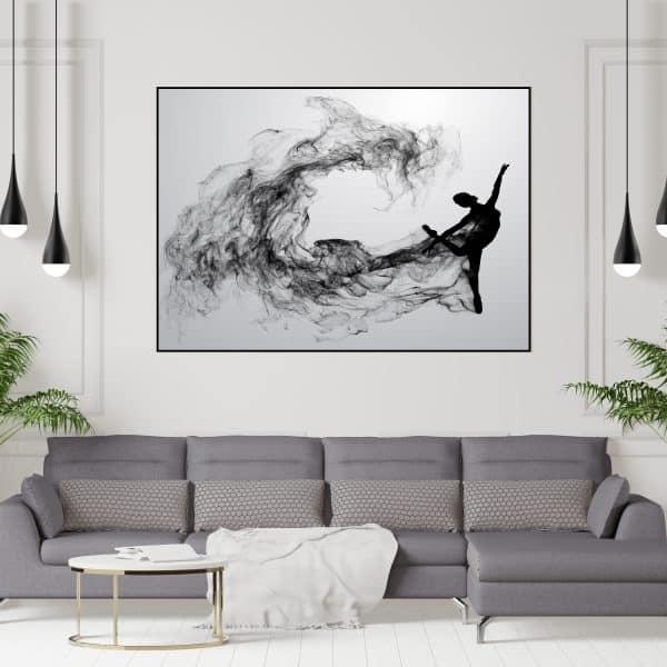 Tablou Canvas Balerina Abstract
