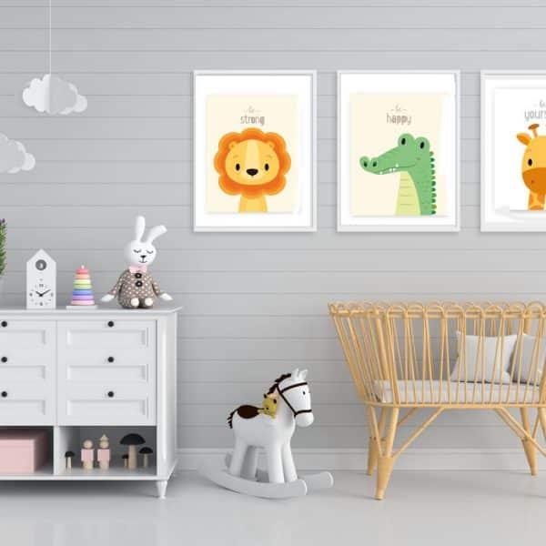 Set Tablouri copii Animals