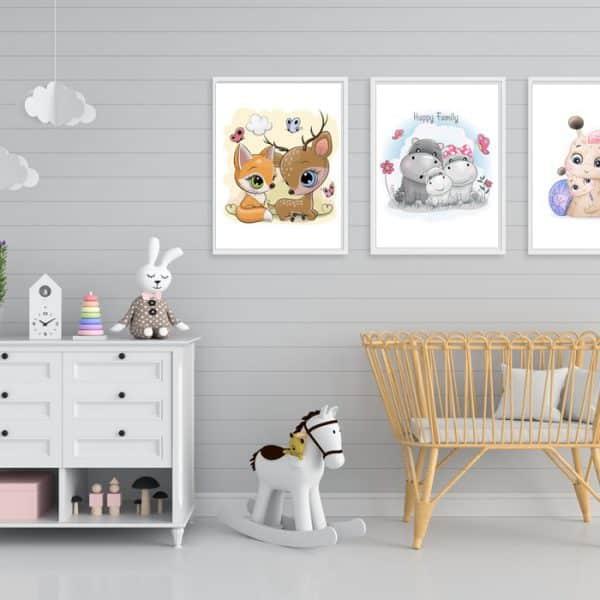 Set Tablouri copii Animalute