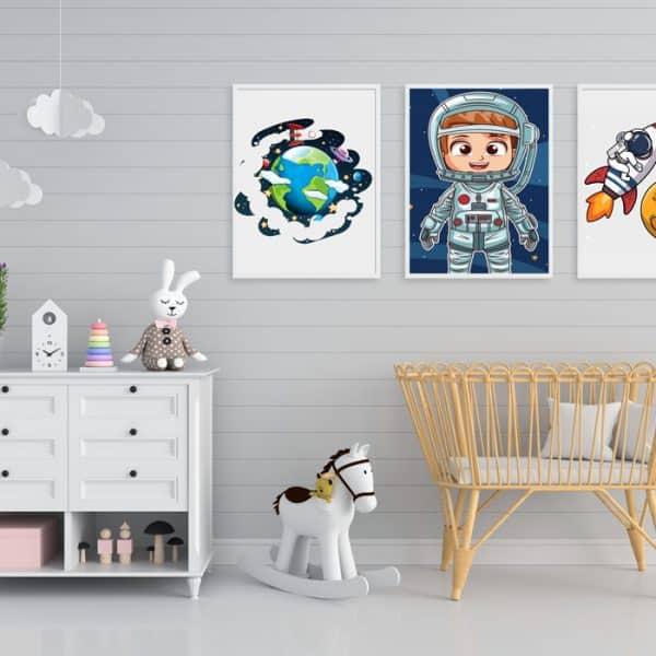 Tablouri copii Astronaut