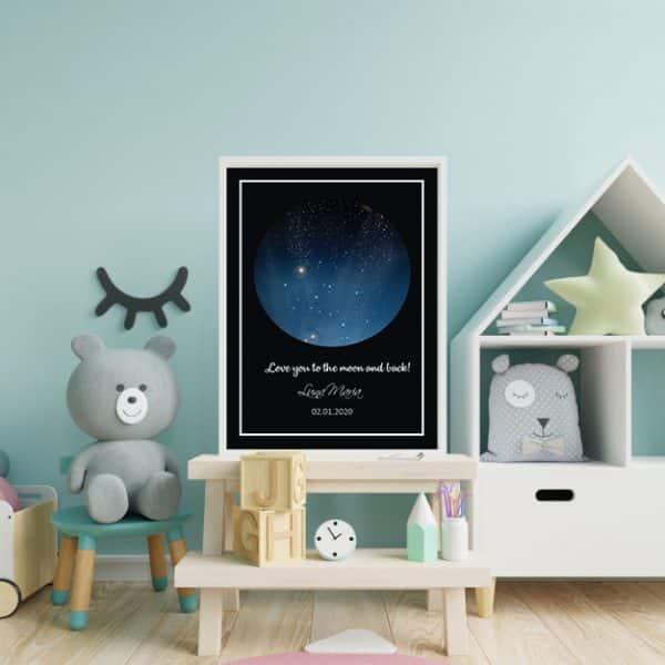 Tablou Luna Camera Copii