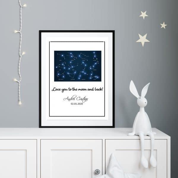 Tablou Copii Astrograma