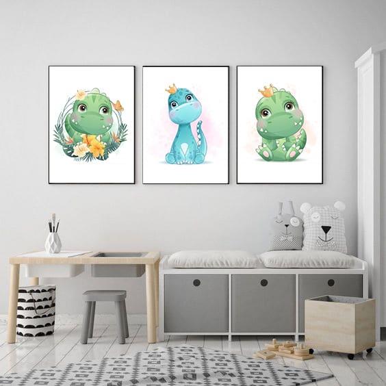 Tablouri copii Dinozauri