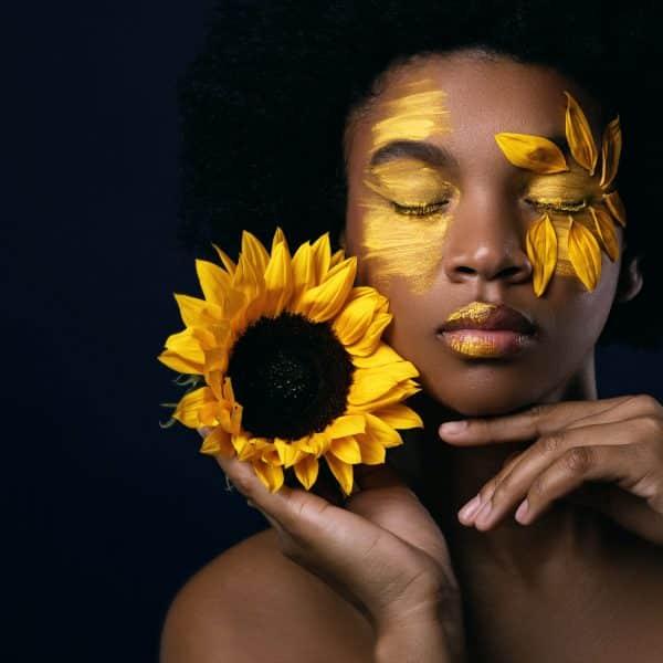 Tablou decorativ floarea soarelui