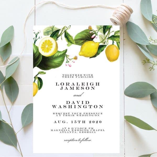 Invitatie de Nunta Lamaie