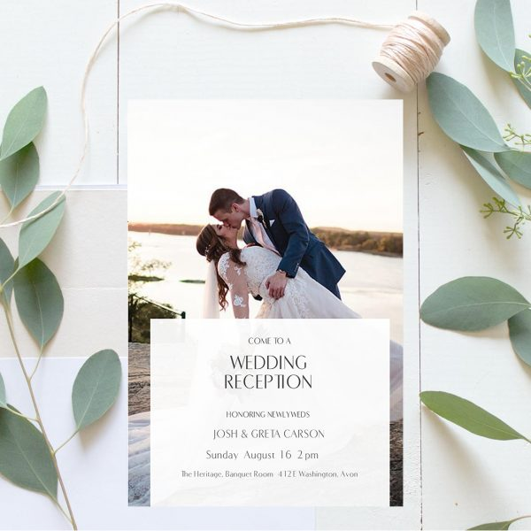 Invitatie de Nunta Wedding
