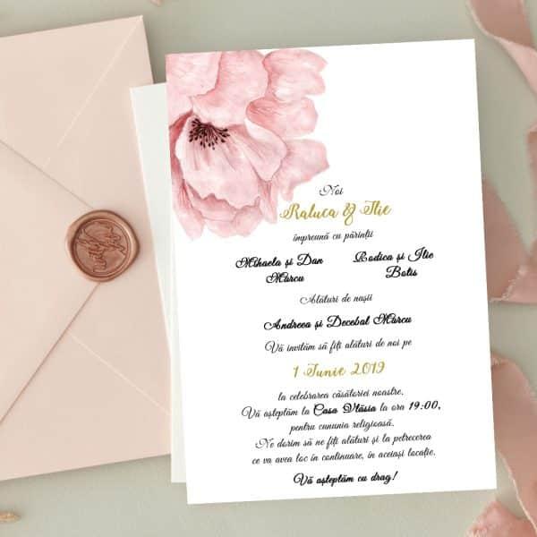 Invitatie de nunta Deosebita