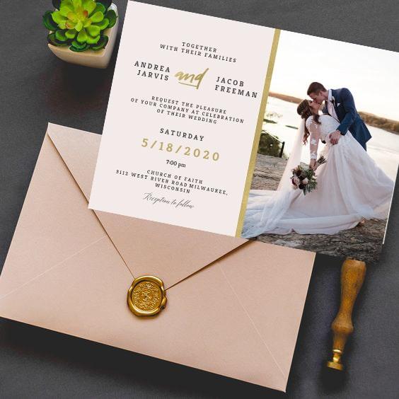 Invitatie de nunta Fotografie