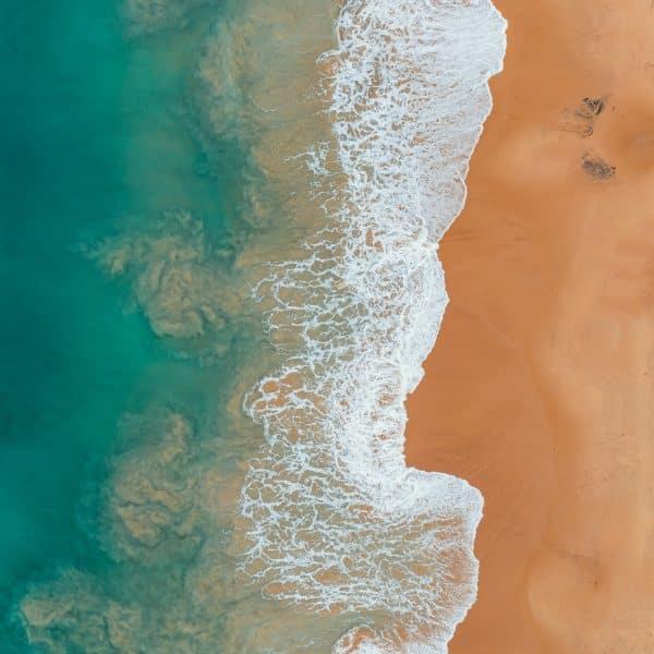 Tablou decorativ litoral