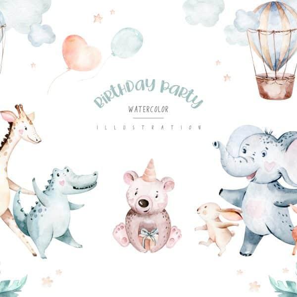 Tablou Copii Elefant