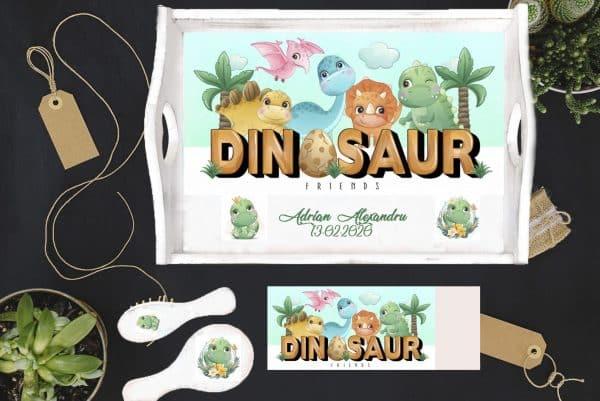 Tavita mot- set aniversar Dinozauri