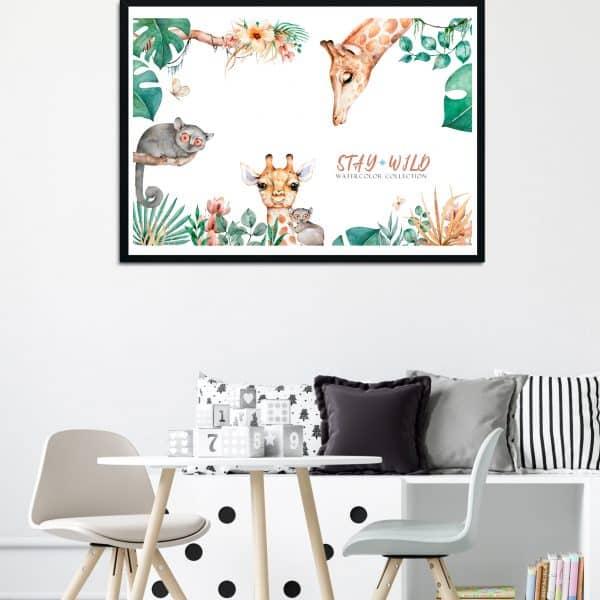Tablou Copii Girafa