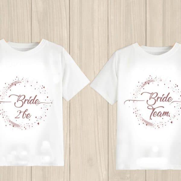 Tricou burlacite Bride Team