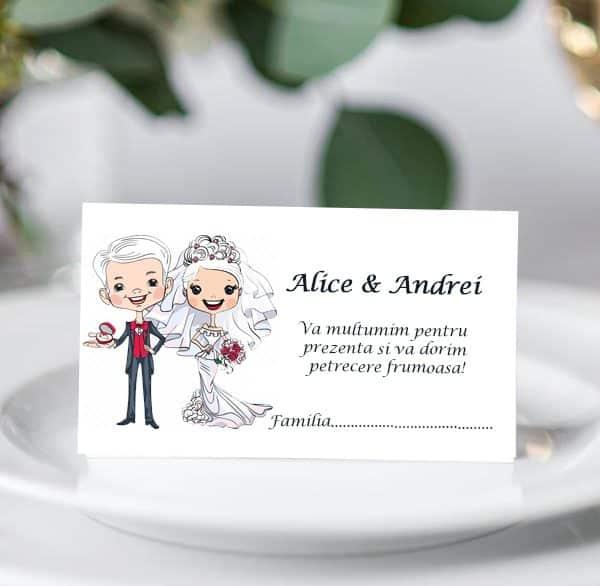 Plic bani de nunta Miri