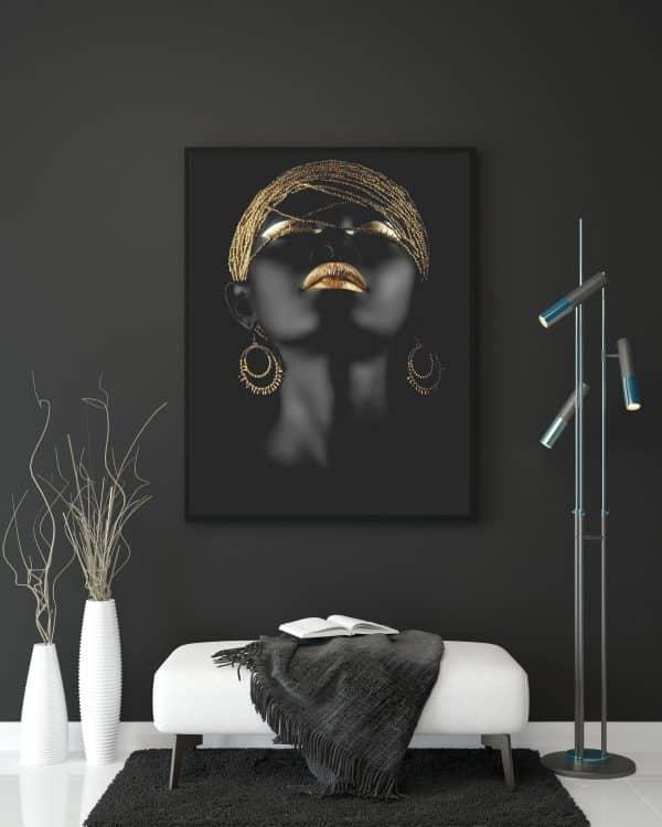 Tablou Canvas Auriu
